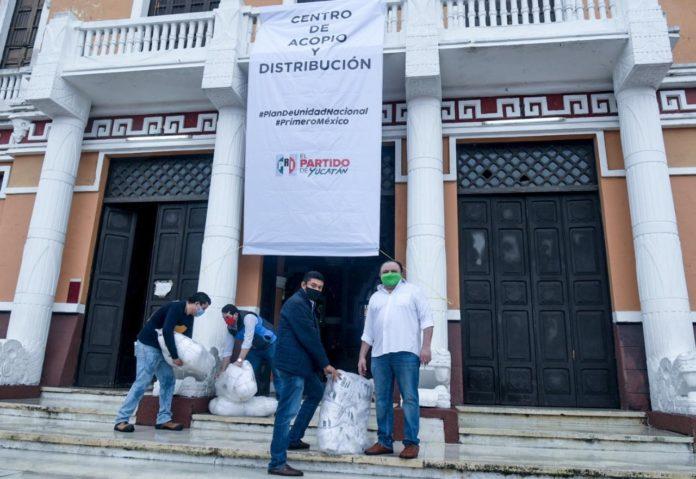 Apoyo a la comunidad Tormenta Cristobal