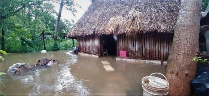 Inundación en Tinum