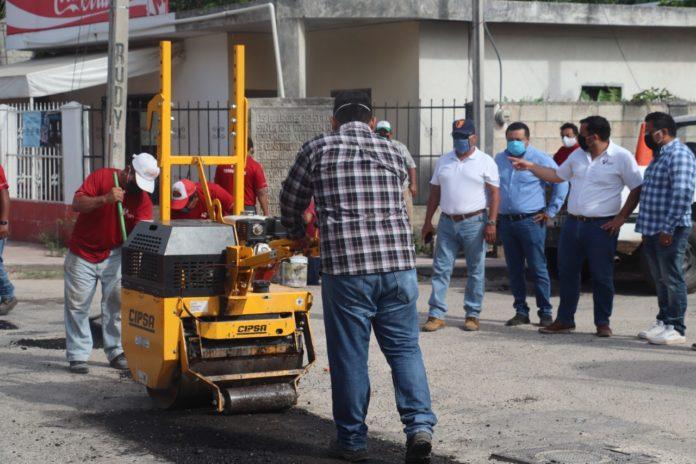 Reparación de calles